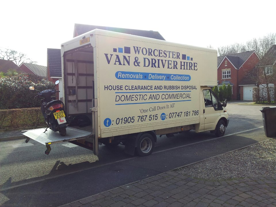 Man & Van Hire Redditch